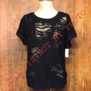 Distressed Torn Shirt